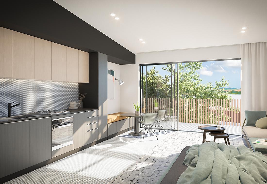 Vic Lake Architects VLA Project Key Worker Accommodation